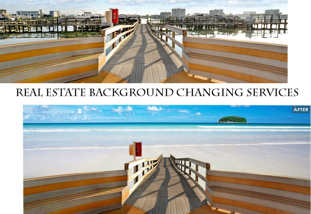 Real Estate Background Changing Services