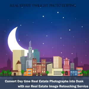 Real Estate Twilight Photo Editing