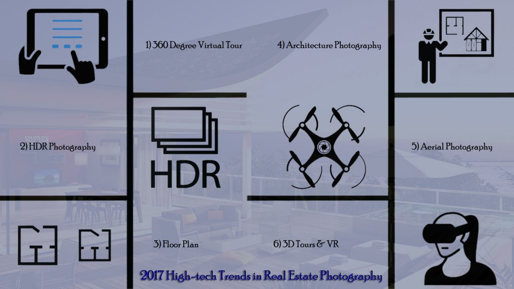 2017 High-tech Trends in Real Estate Photography