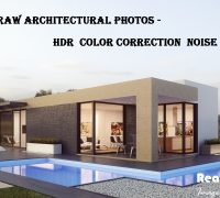 Architectural Rendering image editing Services