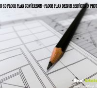Photoshop Floor Plan Conversion Service