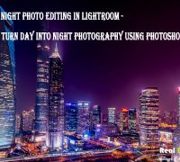 Convert your day looking property image into night looking by our professional image transformation using the Night Photo Editing Service in Lightroom