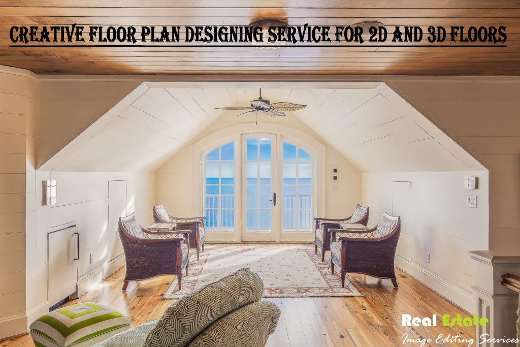 Real Estate Floor Plan Designing Service for Real Estate Images