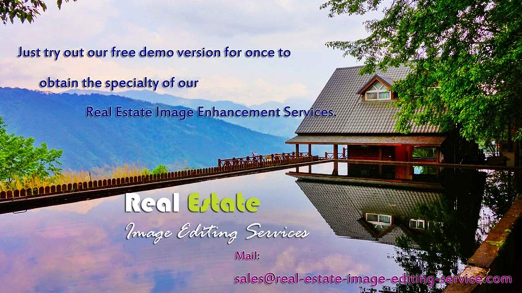Real estate photography editing services