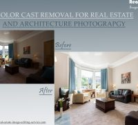 Removing Color Cast in Real Estate and Architectural Photography