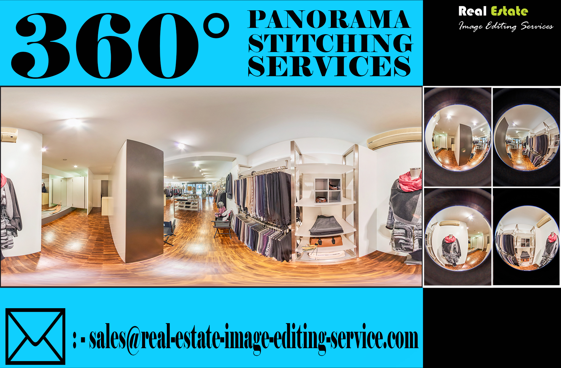 Panorama Enhancement for Real Estate Property
