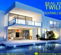 Real Estate Twilight Photo Editing Services