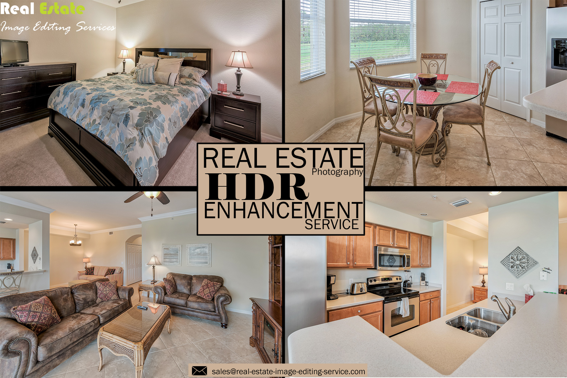 Real Estate HDR Photo Enhancement Services