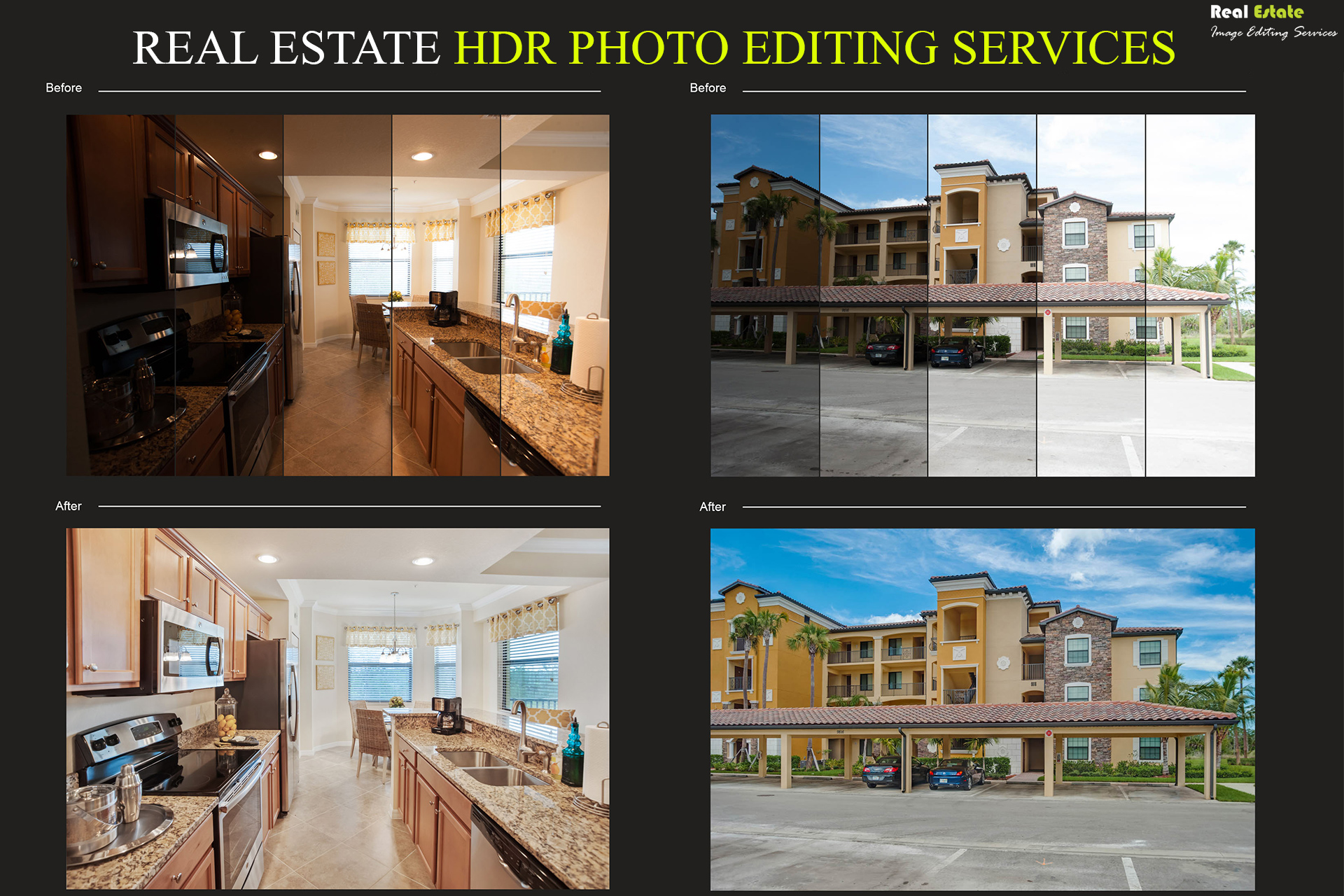 HDR Photo Editing Services